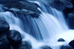 river rapids over rocks